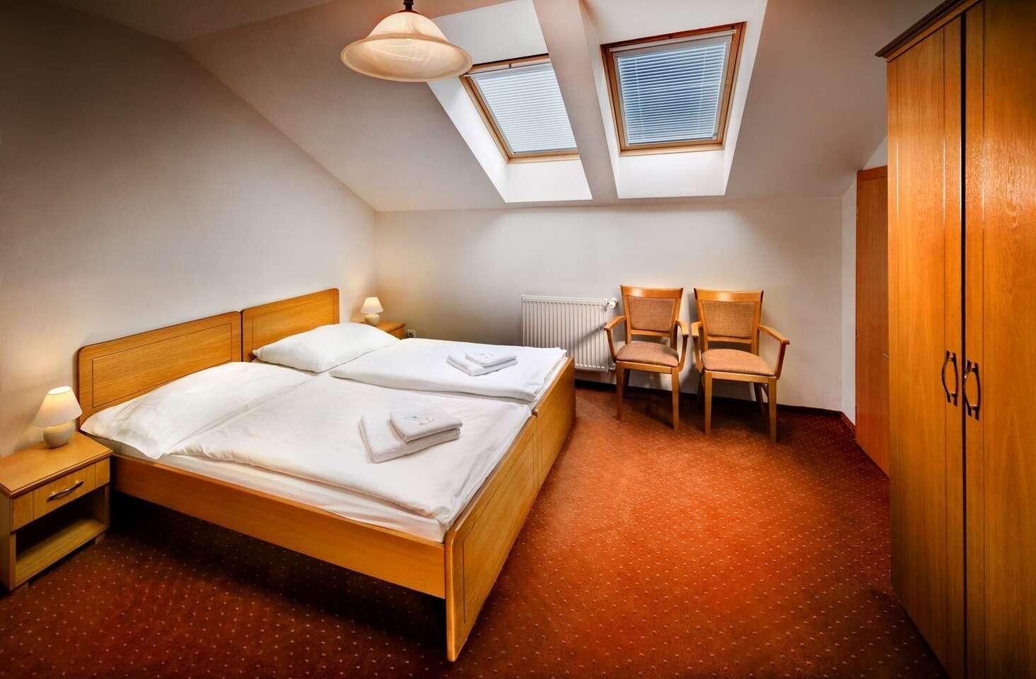 Zimný relax v Kúpeľoch Lúčky s plnou penziou, procedúrami a hre...