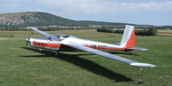 Lietanie na dvojmiestnom lietadle Vivat pre 1 osobu s možnosťou pilotovania/Holíč