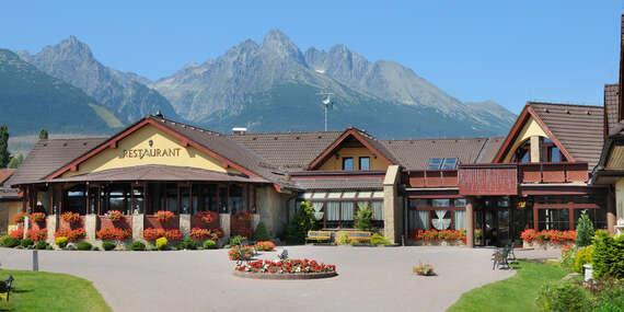 Nadechněte se tatranského vzduchu v oblíbeném hotelu Amalia *** + s polopenzí a wellness během celého roku 2020 / Vysoké Tatry - Nová Lesná