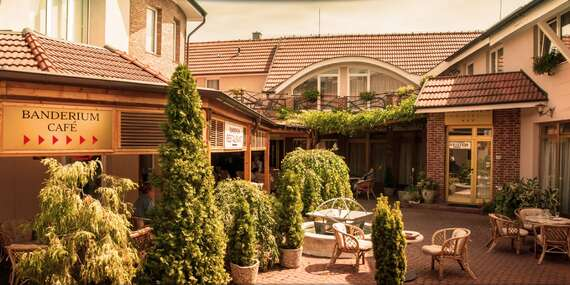 Pobyt vo dvojici v hoteli Banderium*** s privátnym wellness a možnosťou vstupu na termálne kúpalisko/Komárno