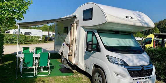 Prenájom Happy Caravan pre 6 osôb na cestovanie a spanie / Slovensko