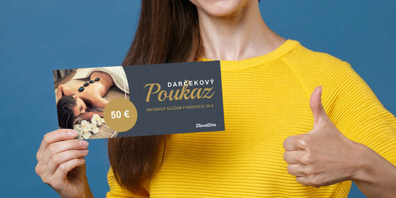 Darčekový poukaz ZľavaDňa na nákup služby/Celé Slovensko