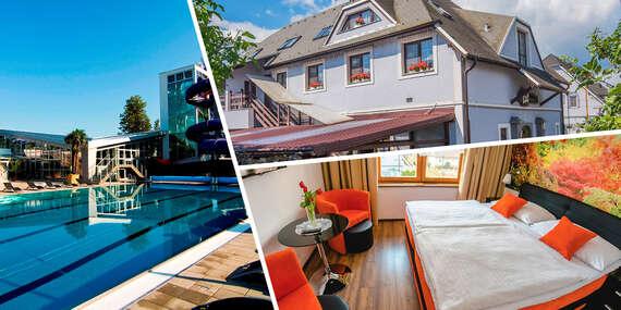 Relax v Spa&Aquapark Turčianske Teplice s polpenziou a ubytovaním v penzióne Panda / Turčianske Teplice
