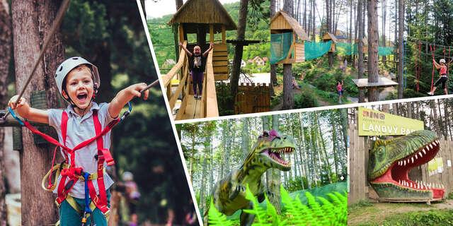 Vstupy do Dino parku a lanového parku Terchová