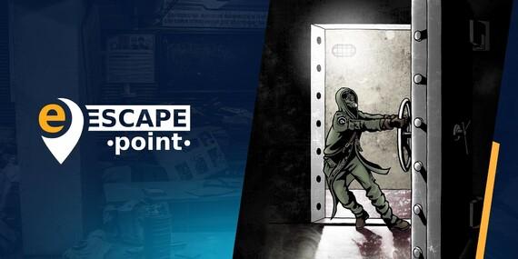 Výběr ze 3 oblíbených únikových her od EscapePoint: Novinář, Bunkr, Pokoj - inteligentní zábava s příběhem, překvapením a atmosférou pro děti i dospělé/Praha 2 - Vinohrady, Praha 8 - Kobylisy