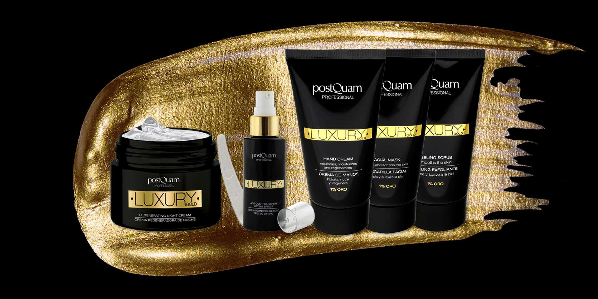 Luxury Gold kozmetika so zlatom: krém, sérum, peeling alebo maska