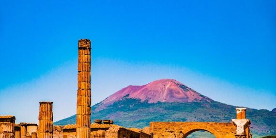 Za krásami južného Talianska: Rím, Neaopol, Capri, Pompeje a výstup na sopku Vezuv/Taliansko - Rím, Neapol, Vezuv, Capri