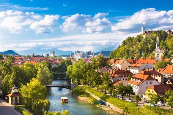 Nádherné Slovinsko s návštevou romantického jazera Bled