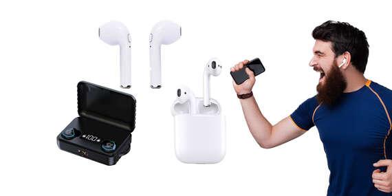 Bezdrátové Bluetooth sluchátka a HD Stereo i powerbanka 2v1/Slovensko