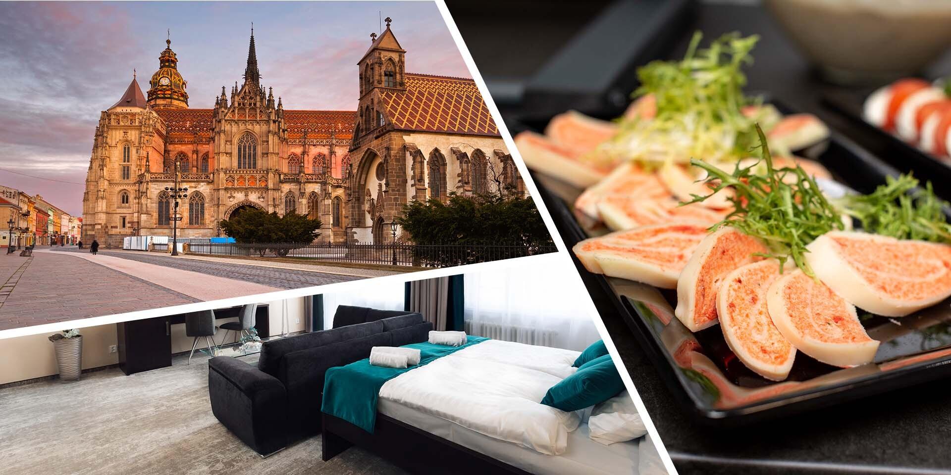 Ubytovanie v Hoteli Crystal*** v izbách Business Deluxe s bohatými raňajkami, proseccom a ovocnou misou