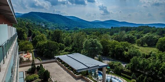 Termální lázně a wellness v Hotelu Visegrad Superior **** s polopenzí a volným vstupem do bazénů pro 1 osobu za nejnižší ceny/Maďarsko - Visegrad