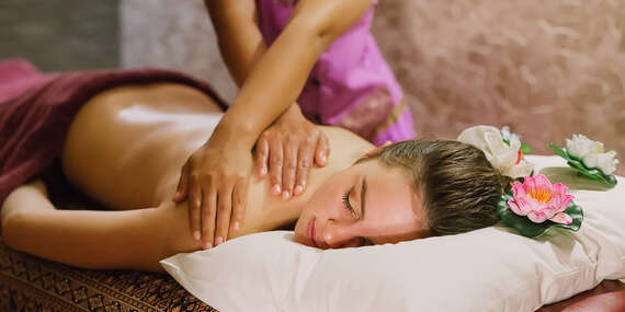 Thajská olejová aromatická masáž v Yen Sabai Thai Massage s možnosťou využitia aj VIP miestnosti/Zvolen
