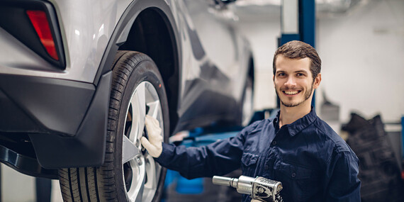 Pripravte sa na sezónu už teraz - kompletné prezutie vozidla s vyvážením pneumatík / Košice