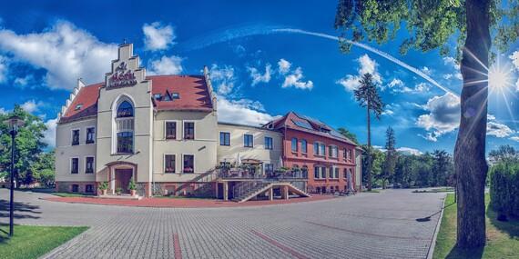 Poľský hotel Niemcza SPA*** uprostred prírody s polpenziou a neobmedzeným wellness / Poľsko