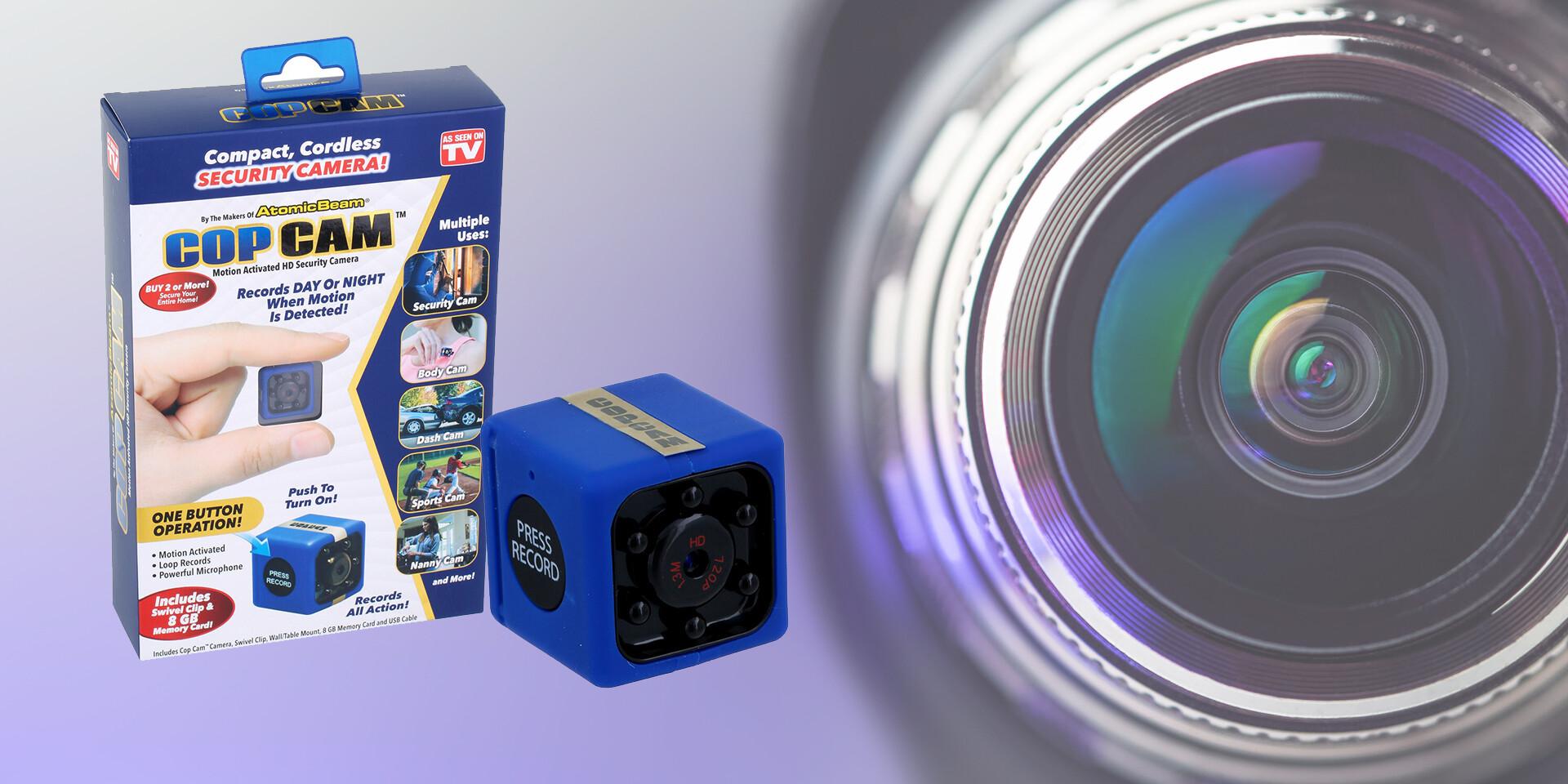 Mini kamera s rozlíšením Full HD