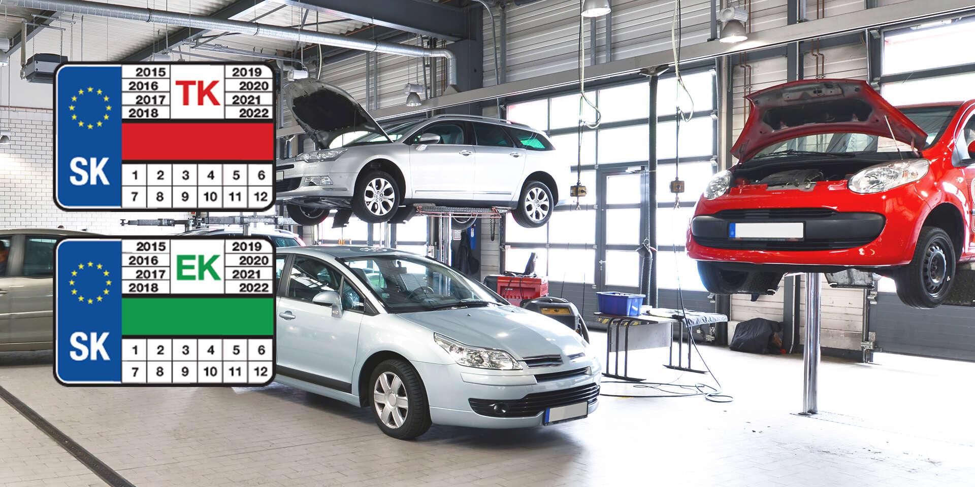 LIMITOVANÁ PONUKA: Technická a emisná kontrola osobného, nákladného vozidla alebo motocykla