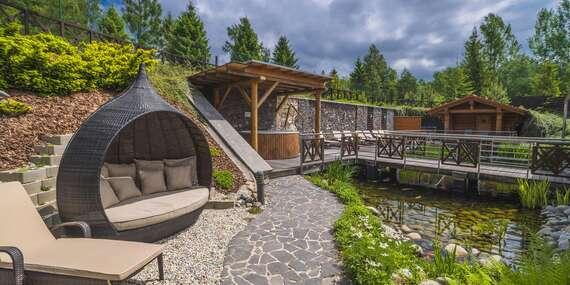 Leto pod štítmi Vysokých Tatier v Kontakt Wellness Hoteli **** s wellness a bohatými aktivitami v okolí / Stará Lesná - Vysoké Tatry