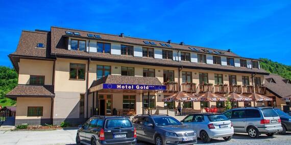 Lyžovačka v Terchovej s ubytovaním v hoteli Gold*** pod sochou Jánošíka a vedľa wellness/Terchová