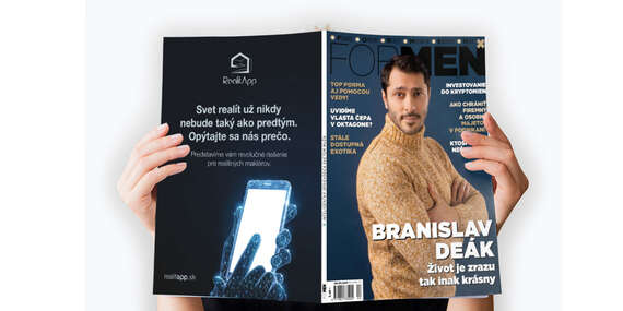 Ročné predplatné online časopisu ForMen/Slovensko