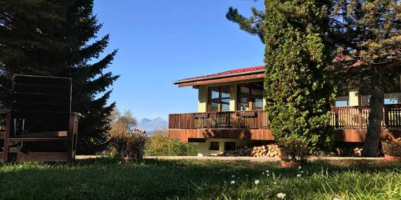 Dobrodružství v Slovenském ráji s výhledem na Tatry v Park Hotelu Čingov ***/Slovenský Raj - Čingov - Hradisko
