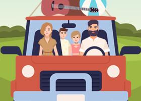 Jak cestovat s dětmi v létě - 7 tipů na bezstarostnou dovolenou