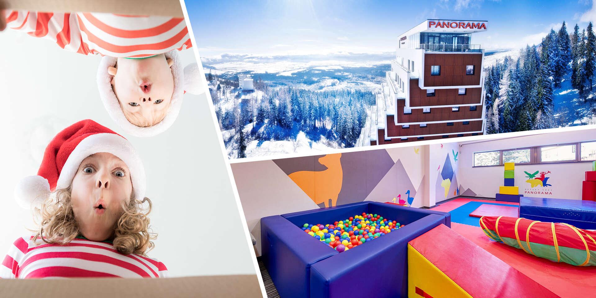 Mikulášsky pobyt pre 2 osoby a 2 deti do 12 rokov v apartmáne hotela Panorama**** pri Štrbskom plese