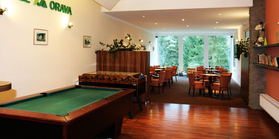 Dovolenka s wellness v Holiday Park Orava*** blízko lyžiarskeho strediska Kubínska hoľa/Orava - Dolný Kubín
