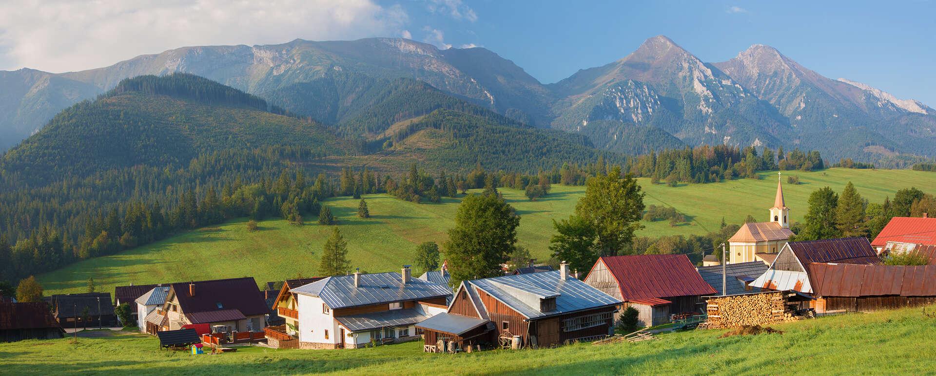 Luxusná chata Adamec s polpenziou a neobmedzeným wellness v najkrajšej časti Tatier