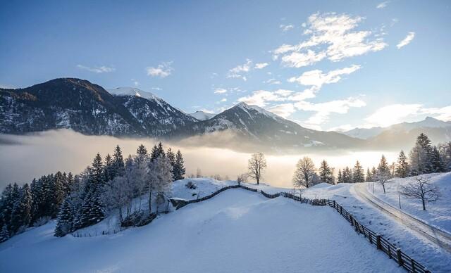 Zimná dovolenka v penzióne Haslinger v salzburských Alpách s raňajkami a vstupom do Felsentherme
