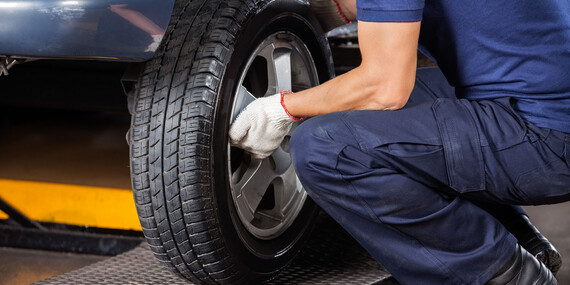 Kompletné prezutie pneumatík bez čakania v rade/Bratislava – Rača