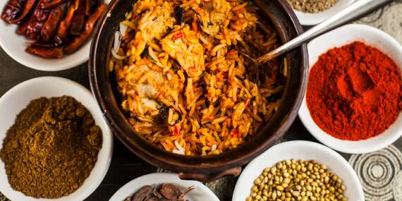 Indické chutě v menu pro 2 nebo 4 osoby v restauraci Salaam Namaste s platností do listopadu 2020/Ostrava