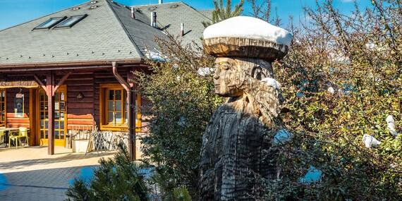 Čarovná zima s celou rodinou v apartmánoch alebo dreveniciach resortu Sojka/Liptov - Malatíny