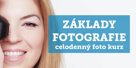Celodenný kurz fotografie pre začiatočníkov od Photo Studio Zweng / Bratislava - Ružinov, areál Improkom