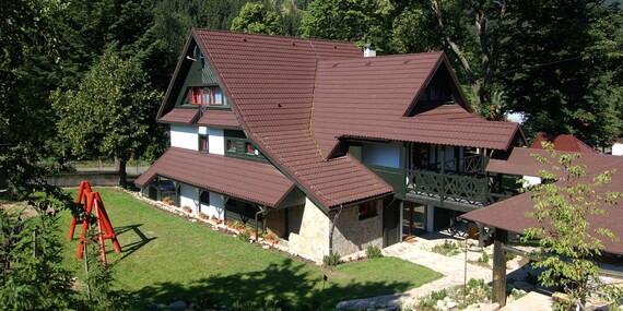 Penzión Malužiná v pokojnom prostredí pod lesom, len 25 km od aquaparku Tatralandia / Nízke Tatry - Malužiná