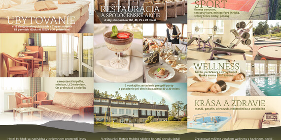 Dovolenka v horskom hoteli Hrádok*** s polpenziou, wellness a dlhou platnosťou do júna 2020/Jelšava - Ochtiná