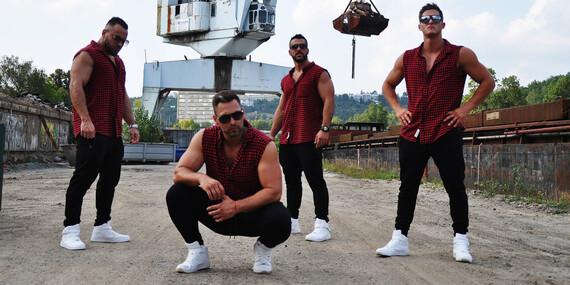 Striptíz show MEN4QUEEN Cesta okolo sveta + pridajú sa aj DIRTYY BOYZZ/Slovensko