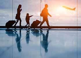 Prežite cestu lietadlom bez ujmy