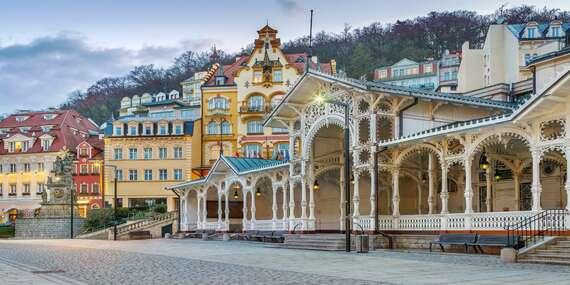 Luxusní péče v hotelu Panorama Spa Sanatorium v centru Karlových Varů s lázeňským balíčkem wellness procedur, tradicí již od roku 1845 a platností po celý rok/Karlovy Vary
