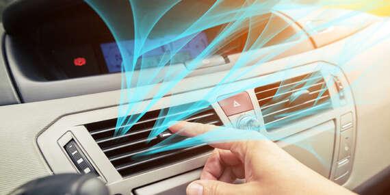 Kompletní servis klimatizace automobilu včetně plnění i dezinfekce ozonem s platností do prosince 2021/Praha 8