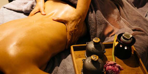 Perfektný relax spojený s masážou, aróma olejmi a uvoľnením v Ayurasan/Bratislava - Nové Mesto