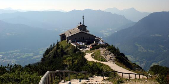 Smaragdové jazero Königsee a Orlie hniezdo/Bavorské Alpy