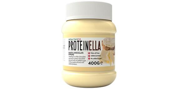Proteínová verzia orieškovo-čokoládovej nátierky - Proteinella s prospešnými živinami a nie len prázdnymi kalóriami/Slovensko