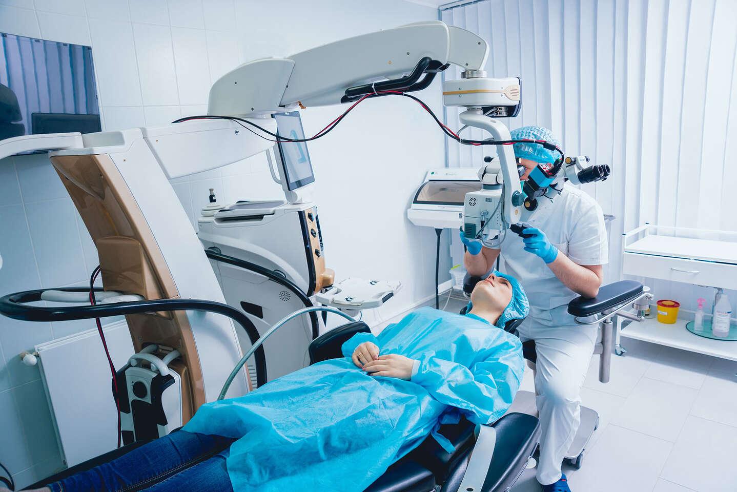 Revolučná laserová operácia očí metódou LASEK