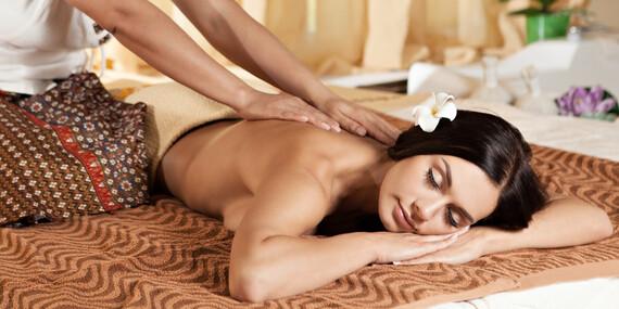 Thajské valentínske kráľovské balíčky plné relaxu s masážami a procedúrami / Bratislava - Dúbravka