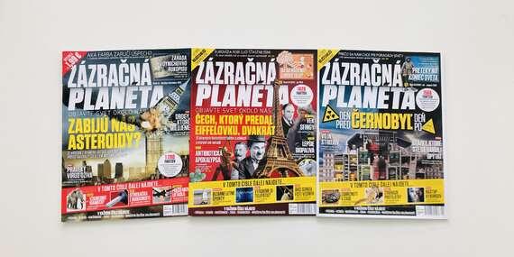 Ročné predplatné časopisu Zázračná planéta/Slovensko