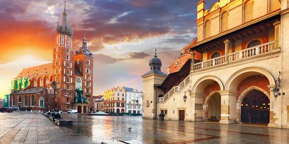 Jednoduché a praktické ubytovanie pre dvoch v hoteli Start** blízko centra Krakova / Poľsko - Krakov