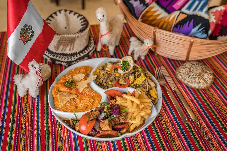 Peruánska misa pre 2 osoby - obsahuje až 3 rôzne jedlá a pochutia si aj vegetariáni v Casa Inka