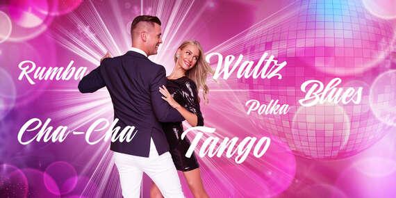 Základný tanečný kurz v Tanečnej škole TOP CENTRUM / Bratislava – Staré Mesto, Ružinov, Petržalka