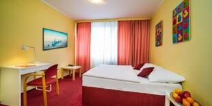 Štandardná dvojlôžková izba v hoteli UNO*** v Prahe