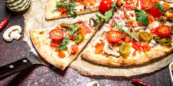 Dve pizze z pizzérie Sole Mio – take away / Bratislava – Staré Mesto